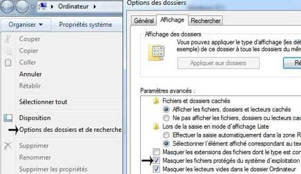 visionner les fichiers cachés